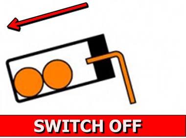 Tilt Switch Action