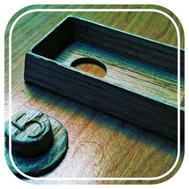 Wooden Doorbell Enclosure