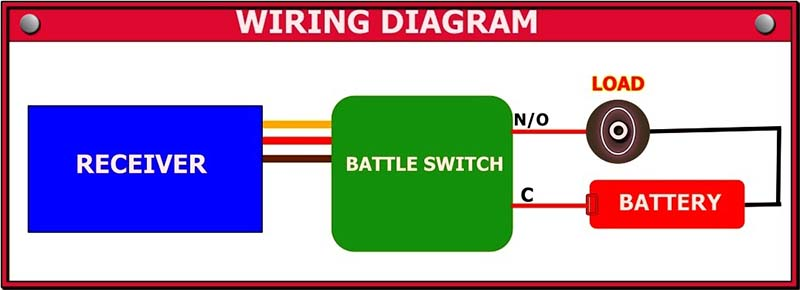 RC Battle switch Wiring Diagram