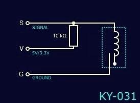 KY-031 Schematic