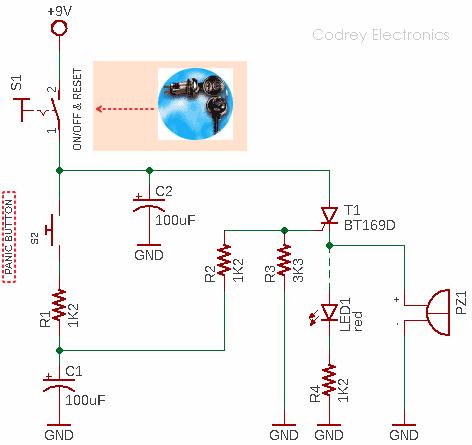 Panic Alarm Circuit