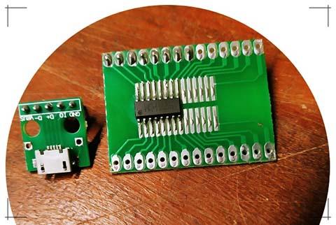 CH551 Adapter Prep