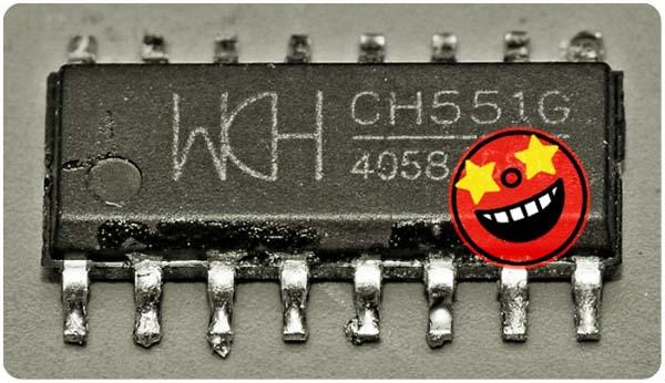CH551G Chip