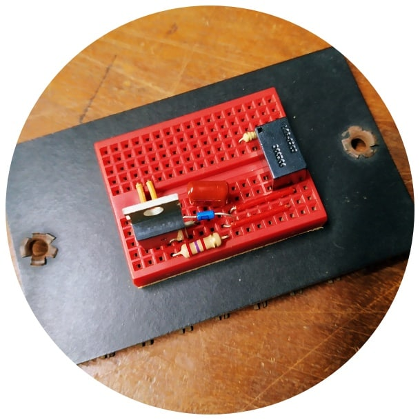 Arduino Garden Lights Controller Breadboard Test