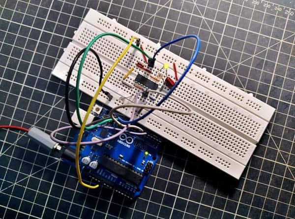 Electronic Signal Selector Switch Module LED Test Setup