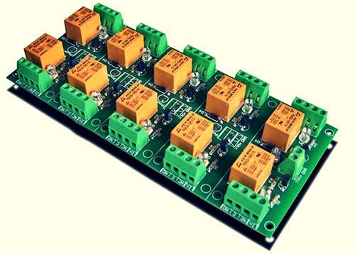 Relay Module 10 Channel