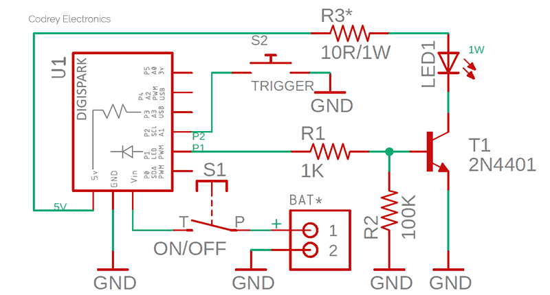 Self-Dimming Lamp Schematic v3
