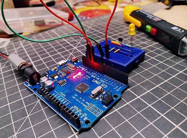Arduino Wake & Halt Switch