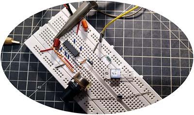 Simple Solder Fume Extractor Idea Test Breadboard