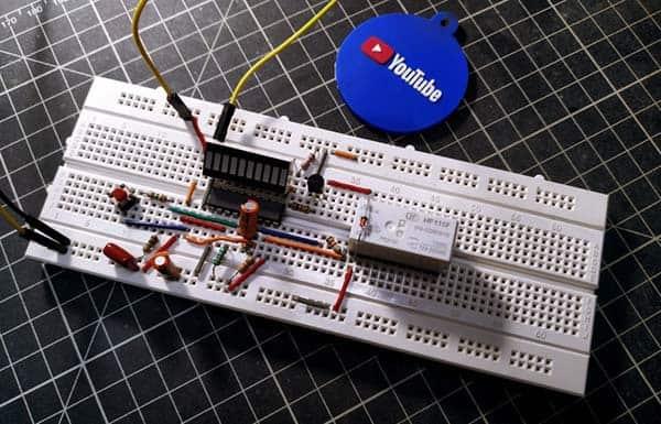 Start & Restart Timer Switch Breadboard Proto