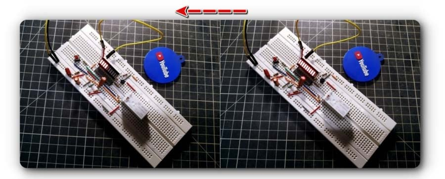 Start & Restart Timer Switch Breadboard Proto Test
