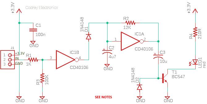 Universal Low Voltage Flasher Circuit