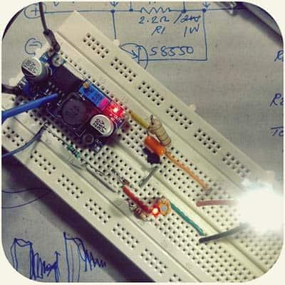 CC Adapter LED Test