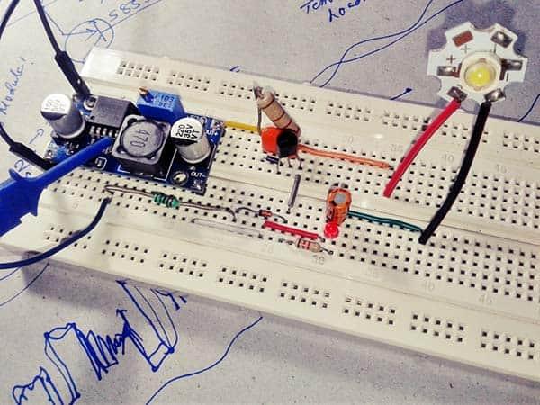 CC LED Breadboard