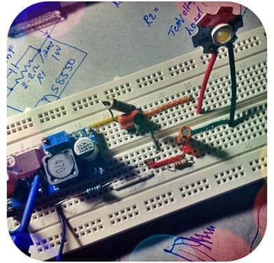 CC LED Test