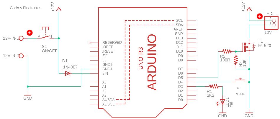 LED Spotlight Schematic v1