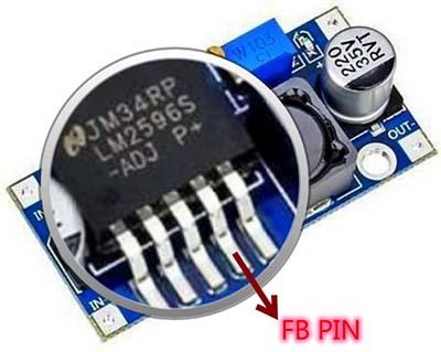 LM2596 Module FB Pin