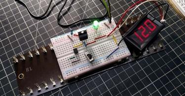 Power MOSFET Load Switch Breadboard v1 Test