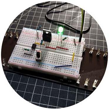 Power MOSFET Load Switch Breadboard v1 Test (2)