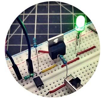 Power MOSFET Load Switch Breadboard v2