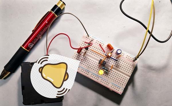 Table Clock Adapter Breadboard Build
