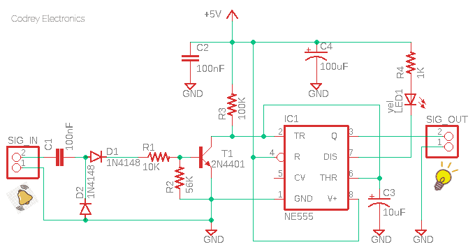 Table Clock Adapter Circuit