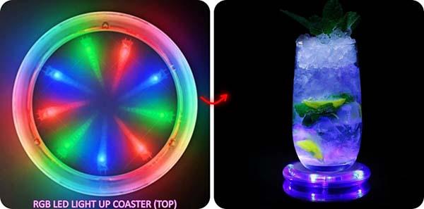 LED Coaster Enclosure Ideas