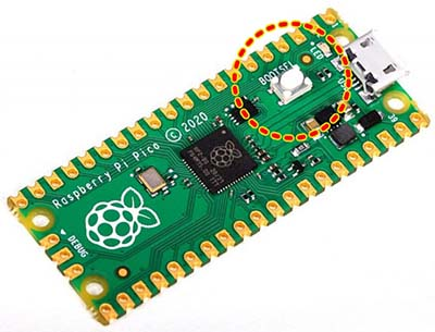 Raspberry Pi BOOTSEL Button