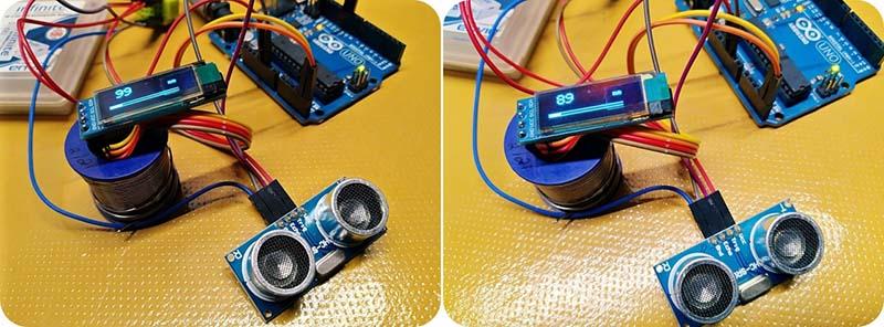 Arduino Distance Meter Measurement Test